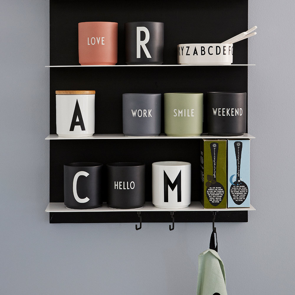 Seriøst design letters favorittkopp - 2 i Spann LN-15