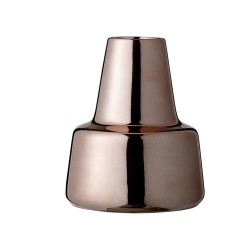 bloomingville vase 22 cm kobber 2 i spann. Black Bedroom Furniture Sets. Home Design Ideas